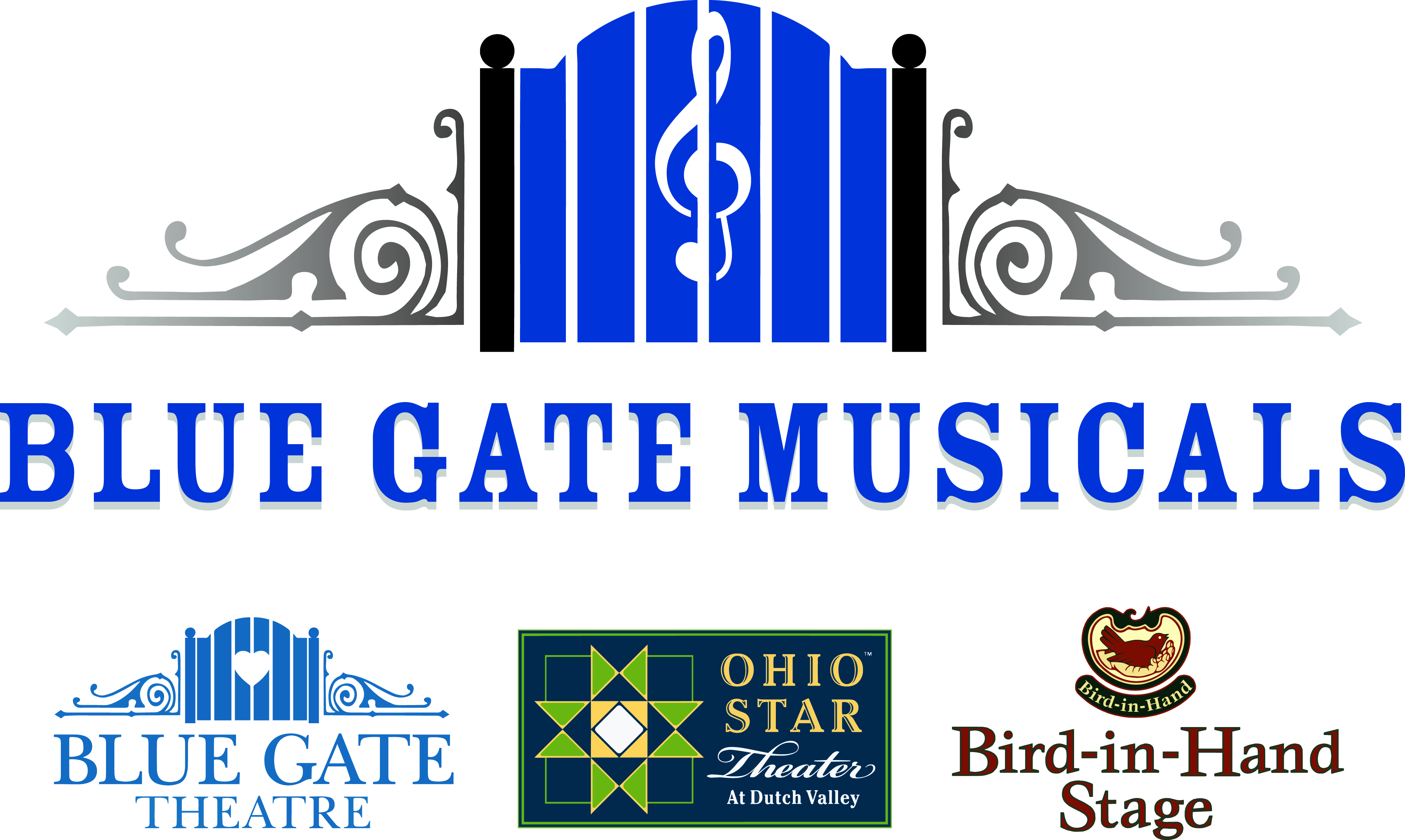 Blue Gate Musicals Logo