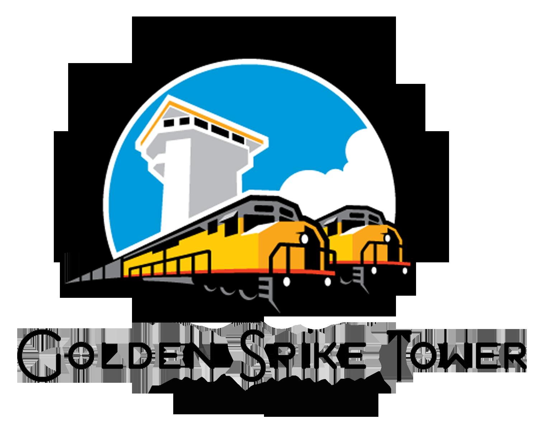 Golden Spike Tower Logo