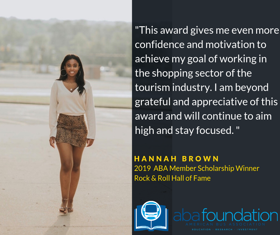 This award gives me even more confidence adn motivation to achieve my goal of working in the shopping sector of the tourism industry i am beyond grateful and appreciative of this award and will continue to aim high and stay focused